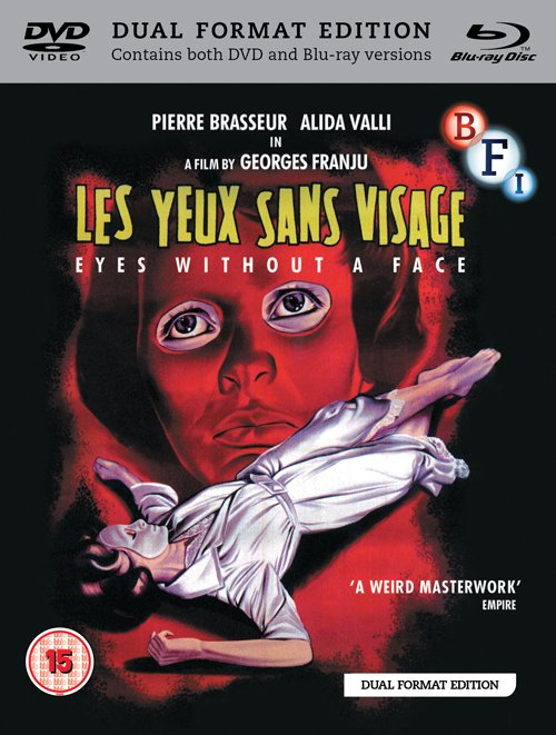 Eyes Without a Face DVD and Blu-ray packshot
