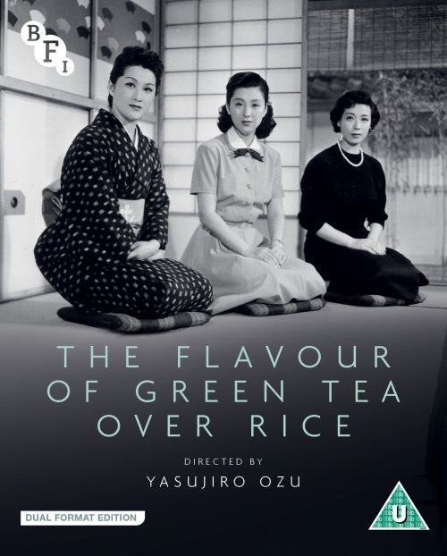 Flavour of Green Tea Over Rice Blu-ray & DVD packshot