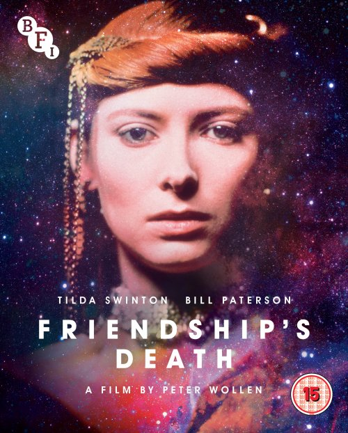 Friendship's Death Blu-ray and DVD packshot