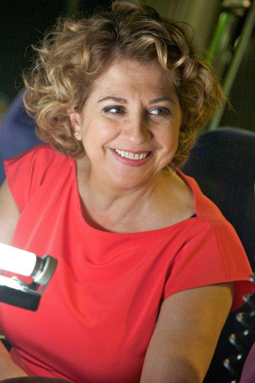 Esther García in I'm So Excited (2013)