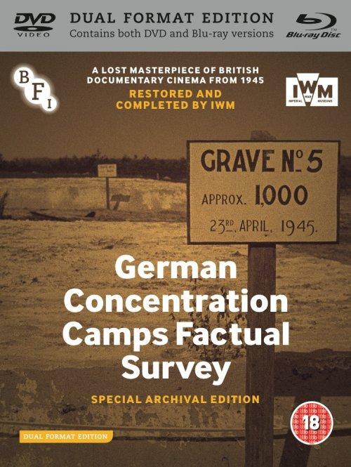 German Concentration Camps Factual Survey dual format edition packshot