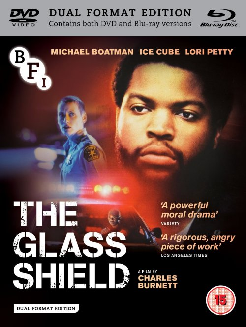 The Glass Shield DVD and Blu-ray packshot (Draft artwork only)