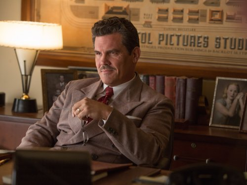 Josh Brolin as studio head Eddie Mannix in Hail, Caesar! (2016)