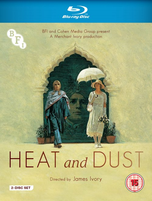 Heat and Dust Blu-ray packshot