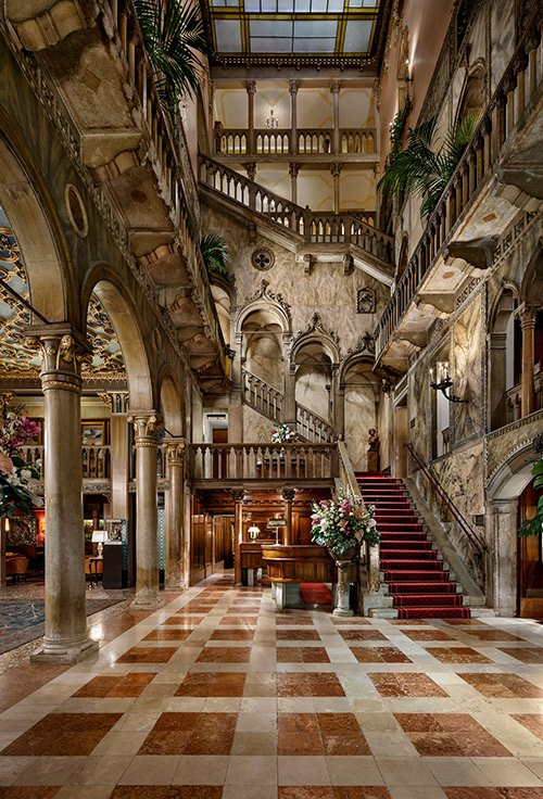 BFI Patrons stayed at Hotel Danieli, a Luxury Collection Hotel, Venice