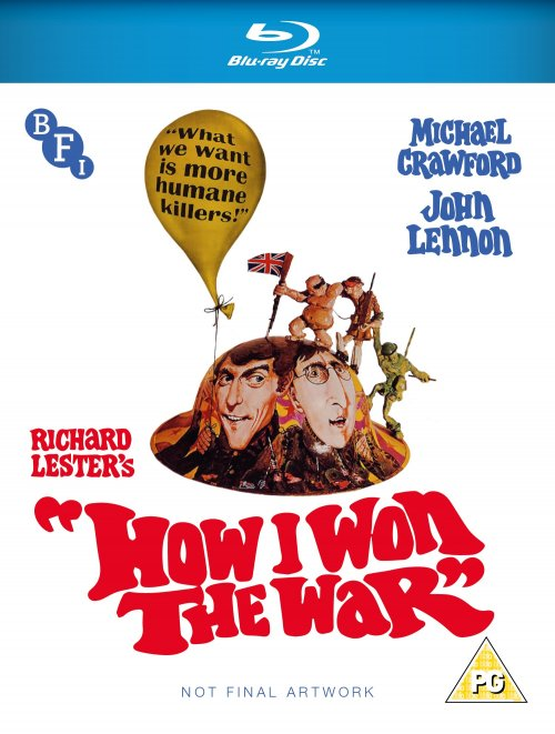 How I Won the War Blu-ray packshot
