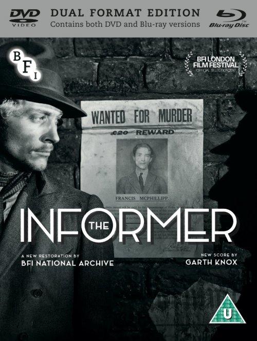 The Informer dual format edition packshot