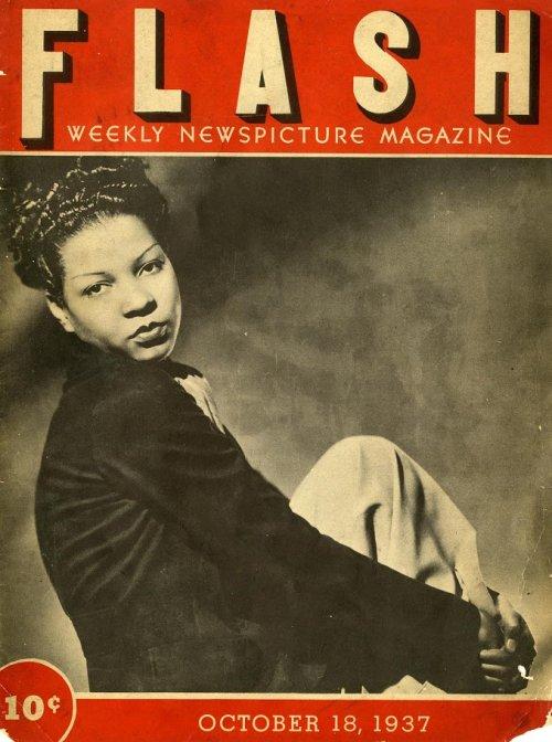 Jeni LeGon on the cover of Flash magazine