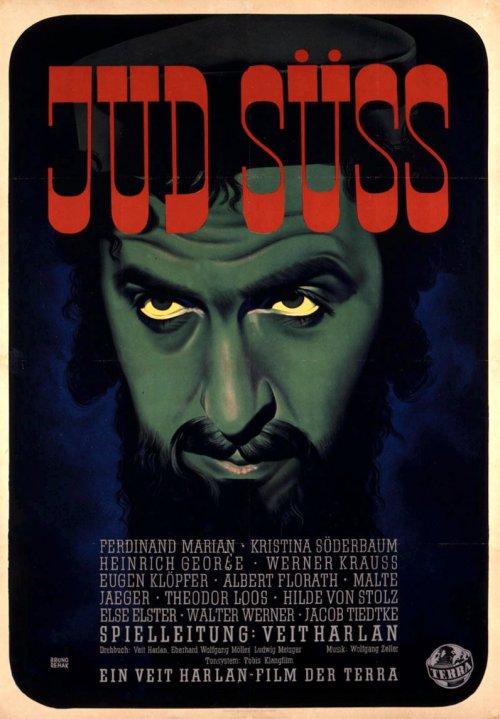 A German poster for Jew Suss (Jud Süß, 1940)