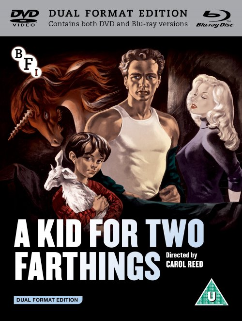 A Kid for Two Farthings dual format edition packshot