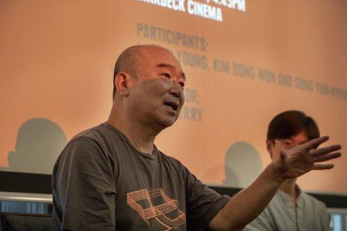 Kim Dongwon at the London Korean Film Festival in August