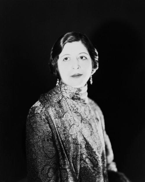 Leila Stewart photographed by her husband, Sasha (1925)