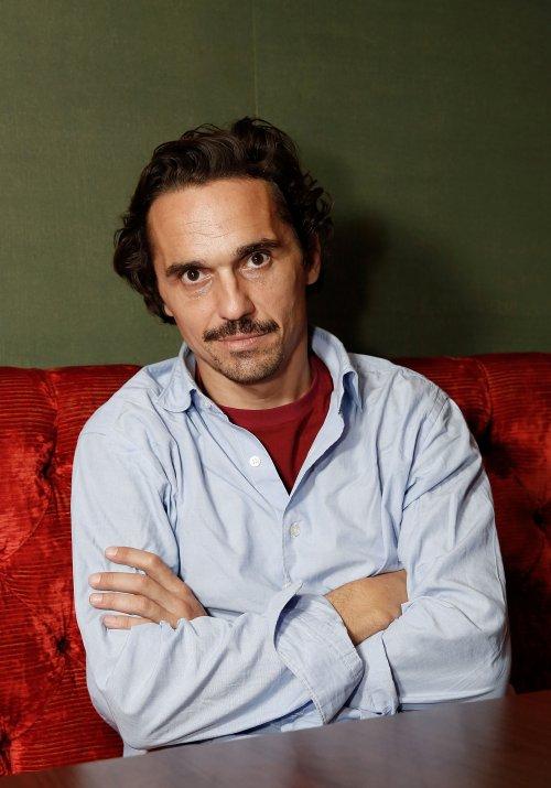 Actor Piergiorgio Bellocchio attends the FilmMaker Afternoon Tea, part of the BFI London Film Festival