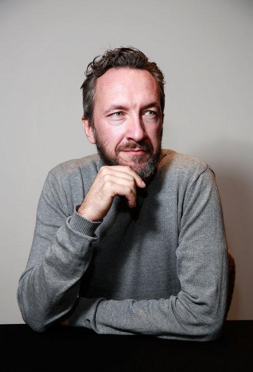 Director/writer Peter Monsaert attends the FilmMaker Afternoon Tea during the 60th BFI London Film Festival