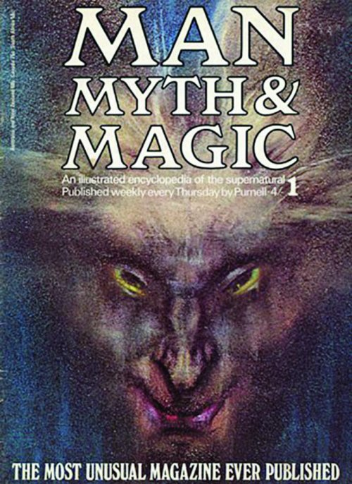 An issue of Man, Myth & Magic magazine