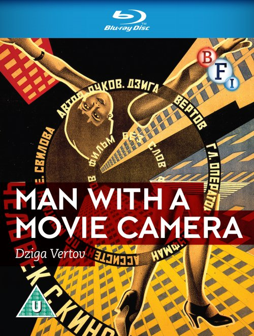 Man with a Movie Camera Blu-ray packshot