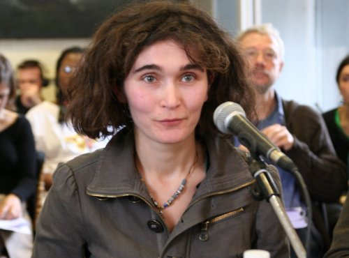 Maria Saakyan at the Amiens International Film Festival in 2008