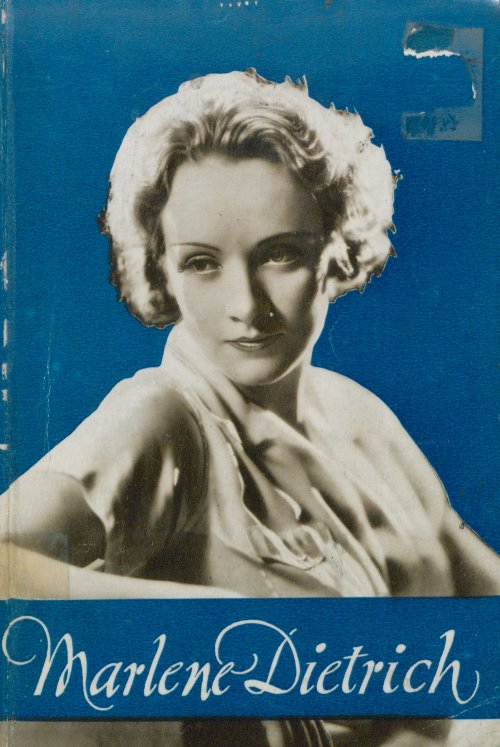 Marlene Dietrich book cover