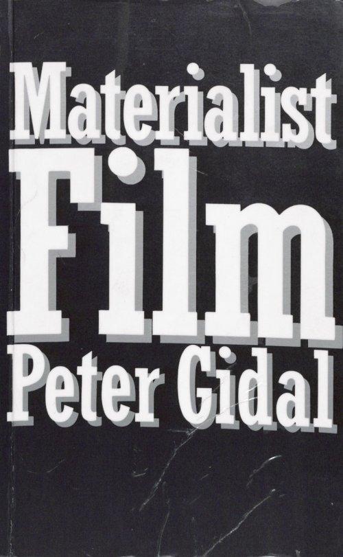 Materialist Film book cover