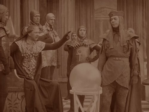 A Message from Mars (1913)