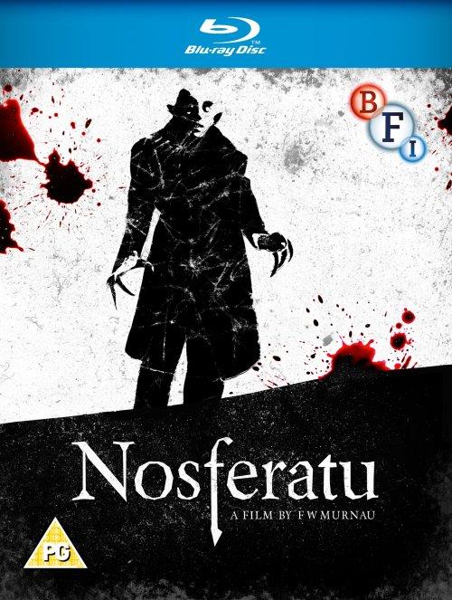 Nosferatu Blu-ray disc packshot