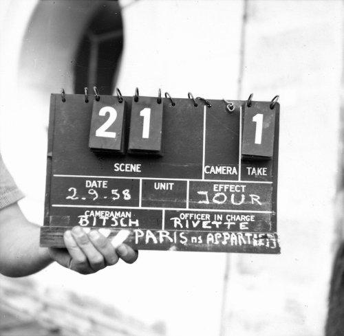 Paris nous appartient (1961) production shot