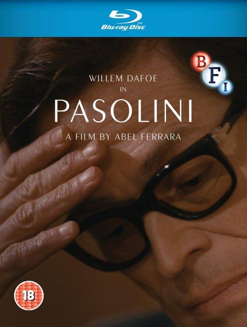 Pasolini Blu-ray disc packshot