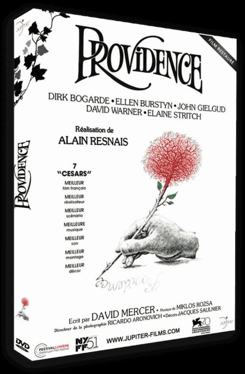 Three votes for Jupiter Films' release of the late Alain Resnais's Providence.