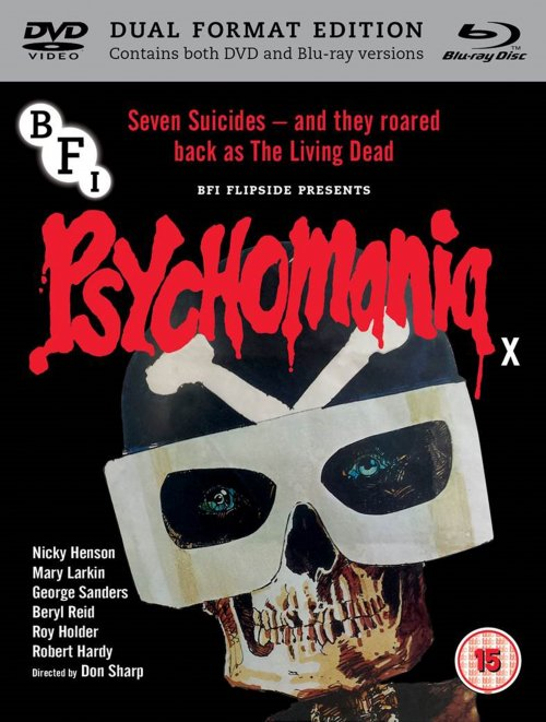 Psychomania dual format edition packshot