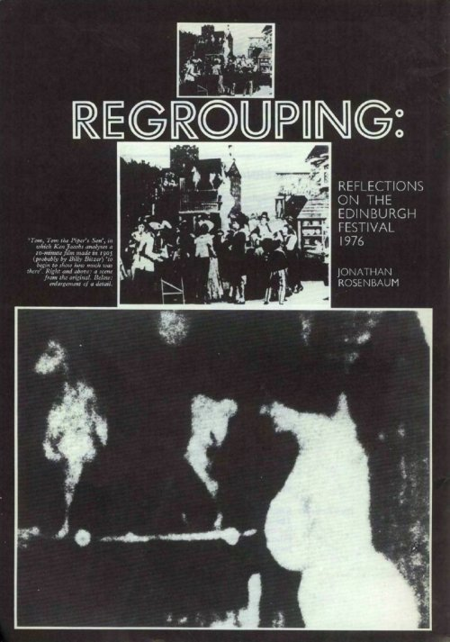 Jonathan Rosenbaum's cover feature on Regrouping in our Winter 1976-77 issue. Read it via our subscription digital archive.