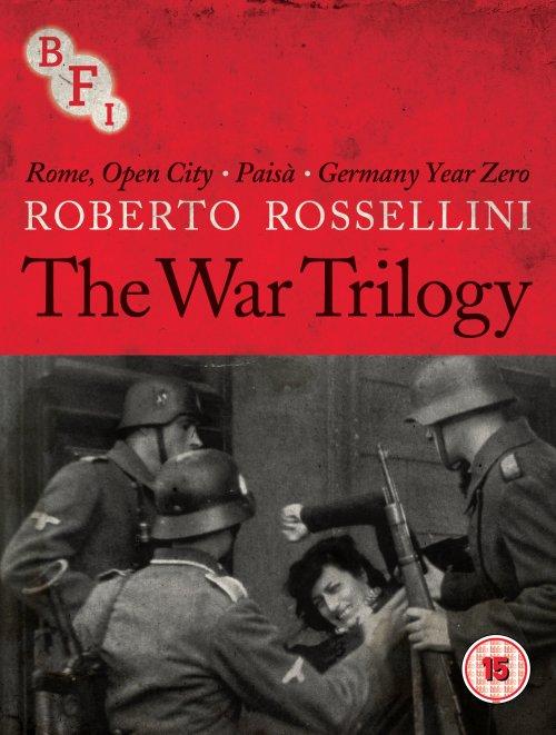 Roberto Rossellini. The War Trilogy DVD packshot