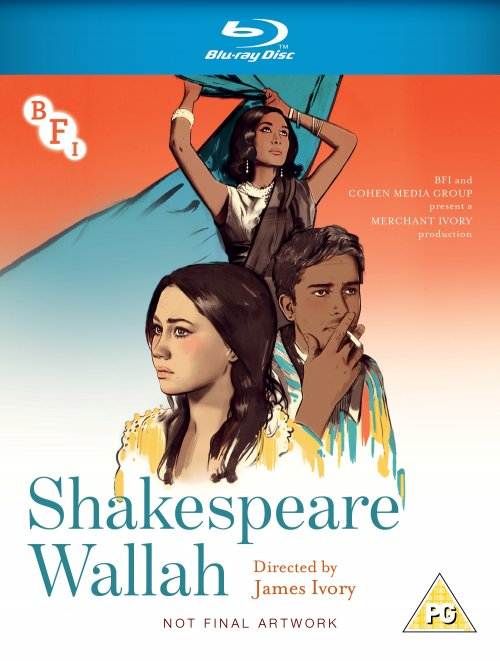 Shakespeare Wallah Blu-ray packshot