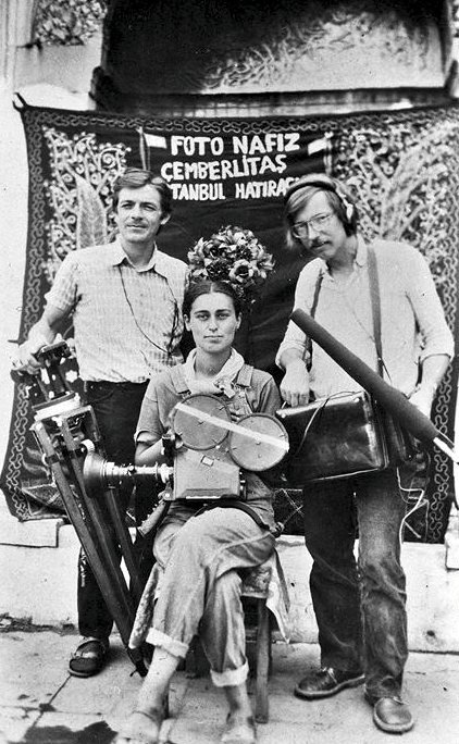 Merlyn Solakhan and crew in 1985