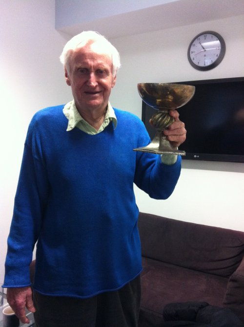 Boorman personally delivers the Holy Grail to the BFI