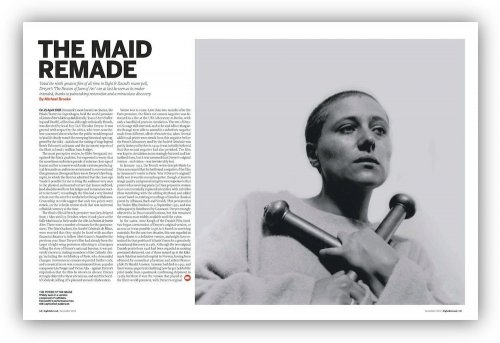 Read about The Passion of Joan of Arc in our December 2012 issue