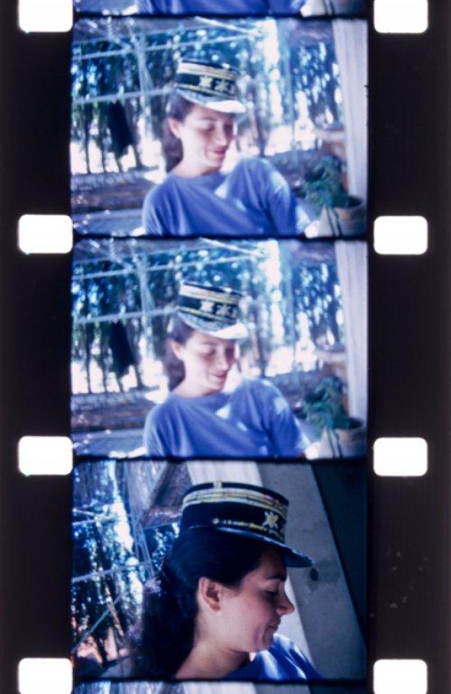 Barbara Stone circa 1965 in photographs by Jonas Mekas