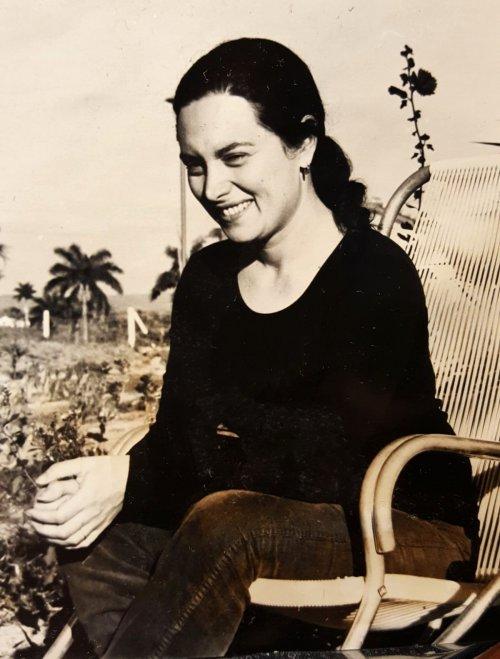 Barbara Stone in Cuba in 1973