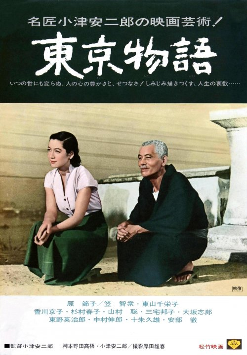 Japanese poster for Tokyo Story