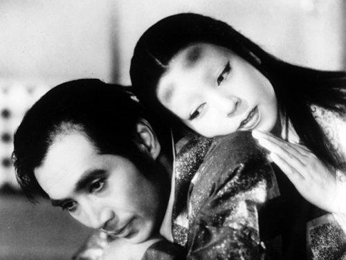 Machiko Kyo in Kenji Mizoguchi's Ugetsu Monogatari (1950)