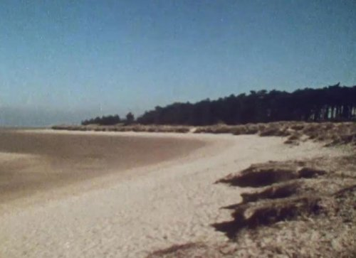 Holkham Beach as seen in A Warning to the Curious (1972)