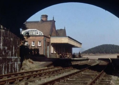 Weybourne Station as seen in A Warning to the Curious (1972)