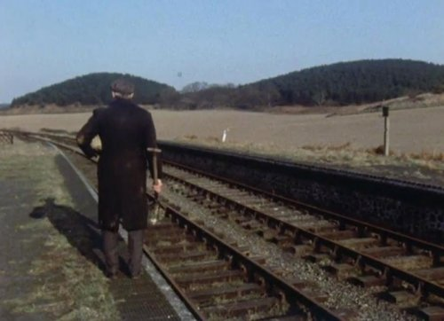 Weybourne Station seen in A Warning to the Curious (1972)