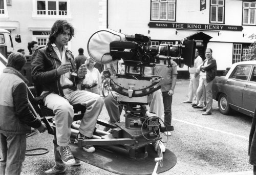 Bruce Robinson on location for Withnail & I (1987)