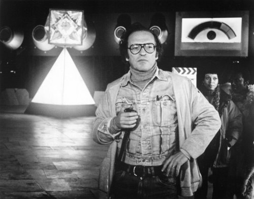 Sidney Lumet on the set of The Wiz (1978)