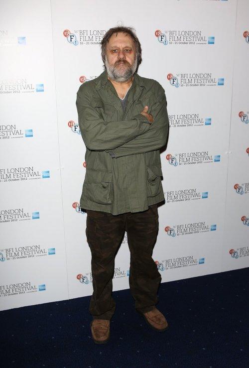 Žižek at his London Film Festival premiere