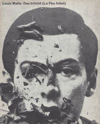 The cover of Hillmann's programme for Louis Malle's Le Feu follet