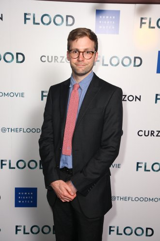 Director Anthony Woodley at The Flood premiere, June 2019