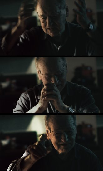 Jonas Mekas in Douglas Gordon's I Had Nowhere to Go
