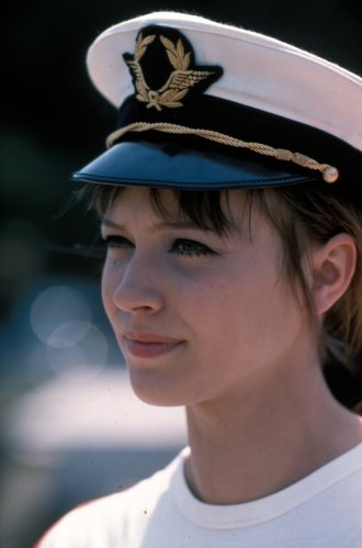 Anna Karina in Pierrot le fou (1965)