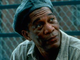 Morgan Freeman in The Shawshank Redemption (1997)